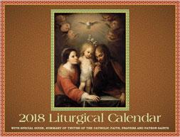 2018 Liturgical Calendar