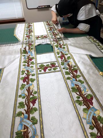 embroidered dalmatic
