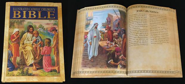 Illustrated Catholic Children's Bible