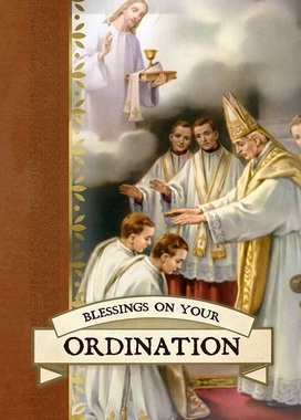 Ordination Greeting Card